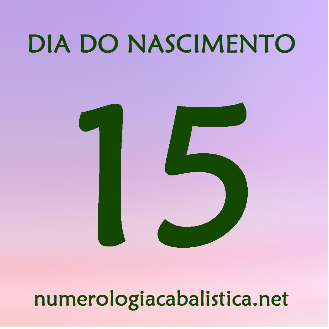 Dia do nascimento 15 – MAGNETISMO PESSOAL