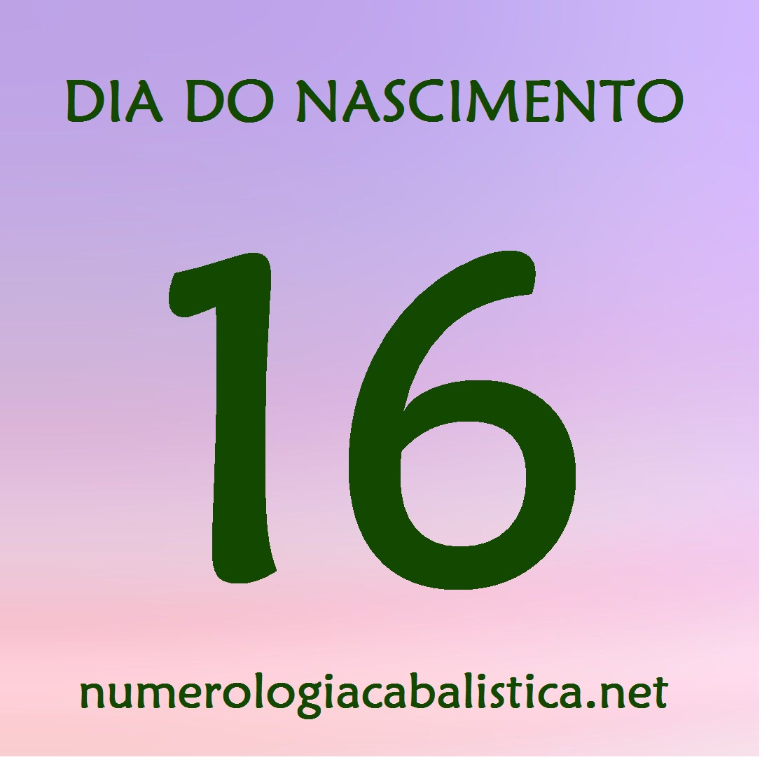 Dia do nascimento 16 – TRIUNFO