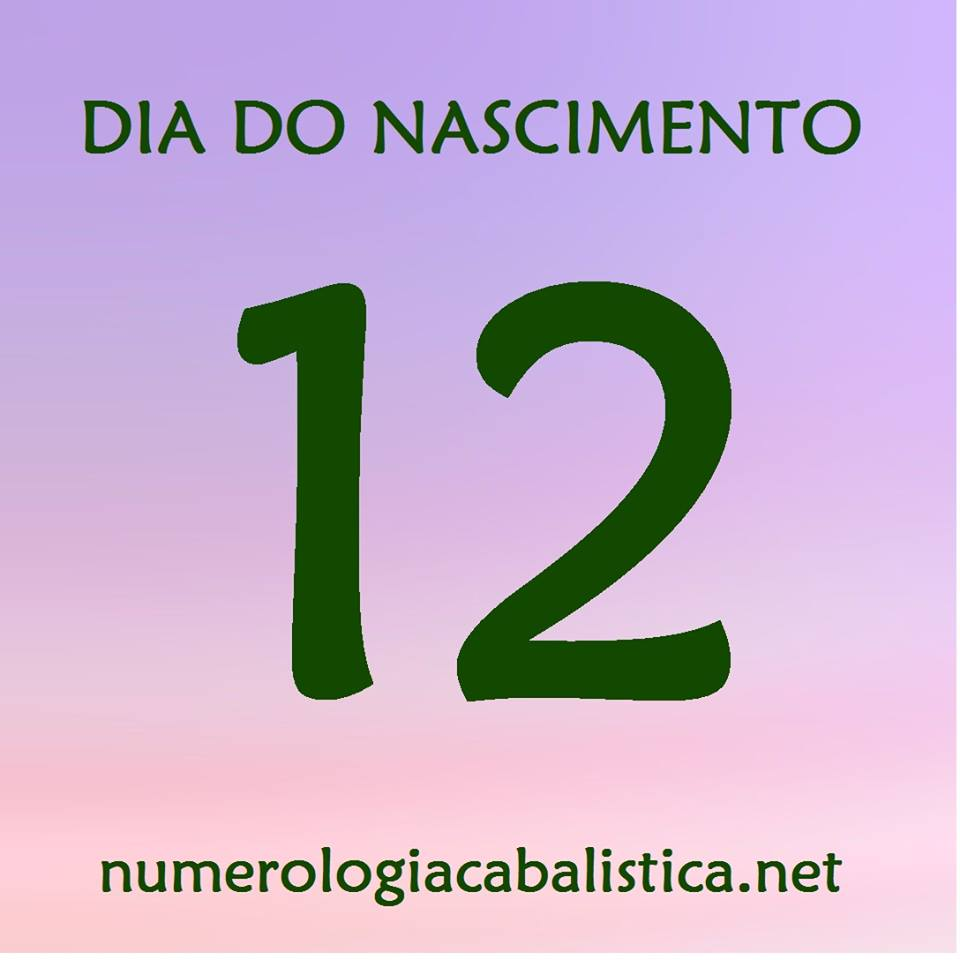 Dia do nascimento 12 – AUTO-EXPRESSÃO